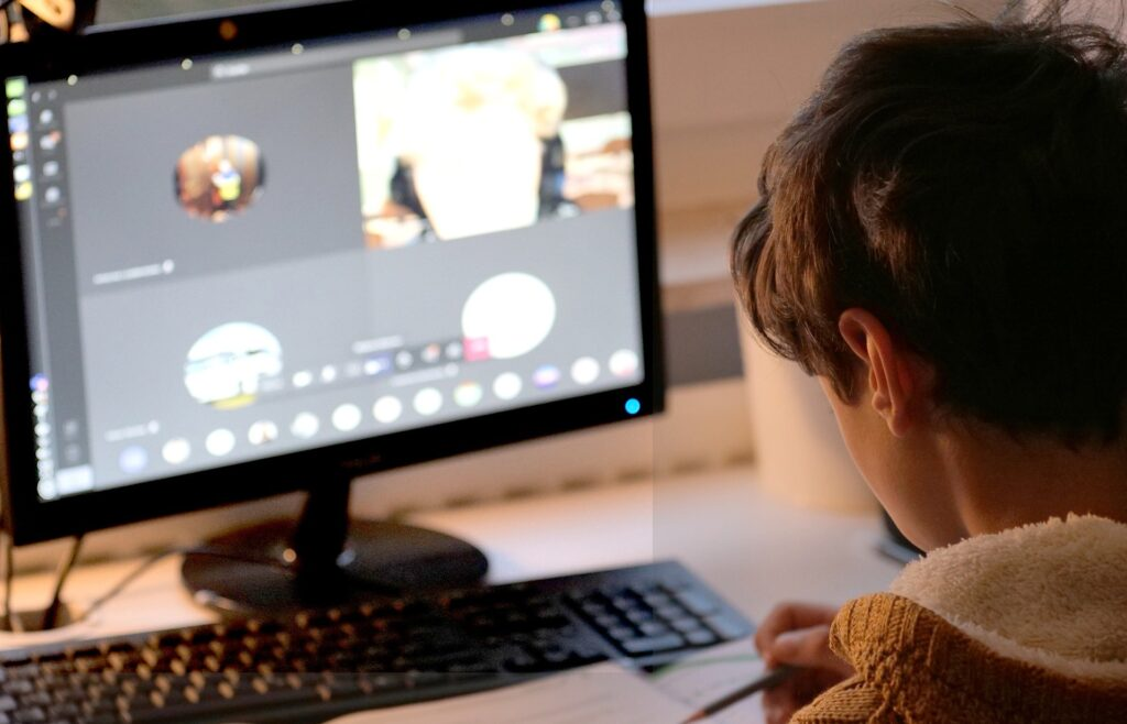When School Comes Home: Making Room in the Day for Distance Learning